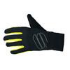 Sportful Softshell Stretch Gloves black/yellow fluo